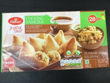 Haldiram's Mini Samosa 28 Pieces 650g