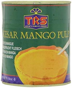 TRS Kesar Mango Pulp 850g