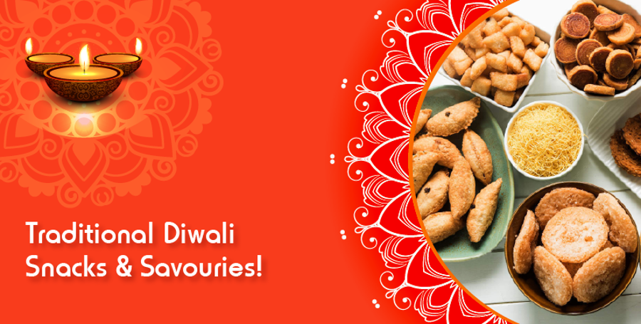Light up Your Tastebuds with Flavoursome Savoury this Diwali