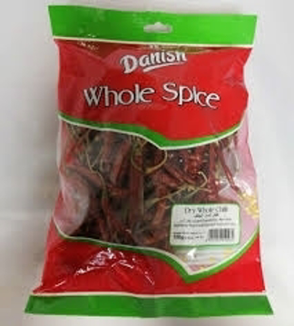 Danish Dry Whole Chilli 100g