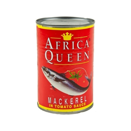 Africa's Mackerel In Tamato Sauce 425g
