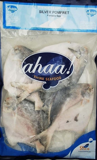 Ahaa Silver Pomfret Whole 600g