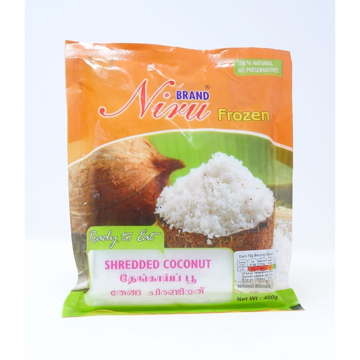 Niru Shredded Coconut 400g