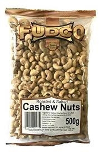 Fudco Roasted & Salted  Cashew Nuts 500g
