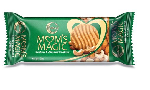 Sunfeast Mom's Magic Cashew & Almond Cookies 75g